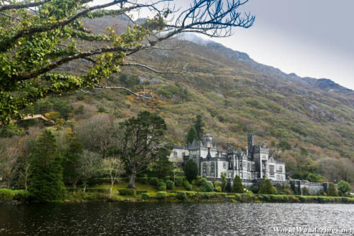 Kylemore Abbey by the Lake