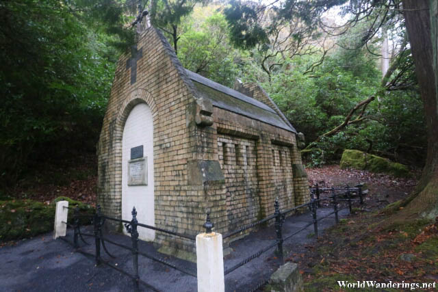 Mausoleum at Kylemore Abbey