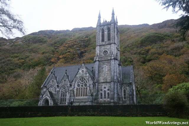 Gothic Church in Kylemore Abbey