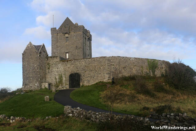 Dunguaire Castle in County Galway