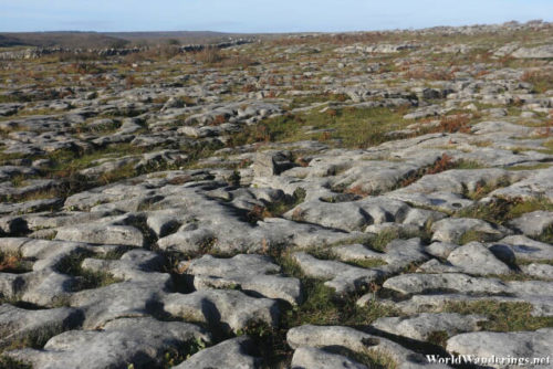 Barren Landscape at the Burren