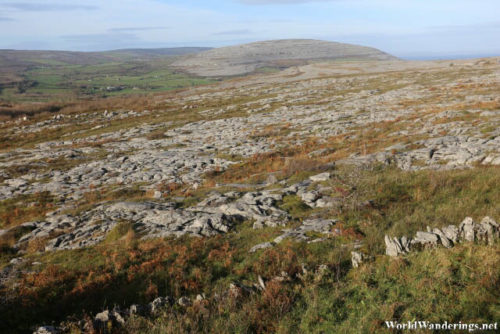 Stark Landscape at the Burren
