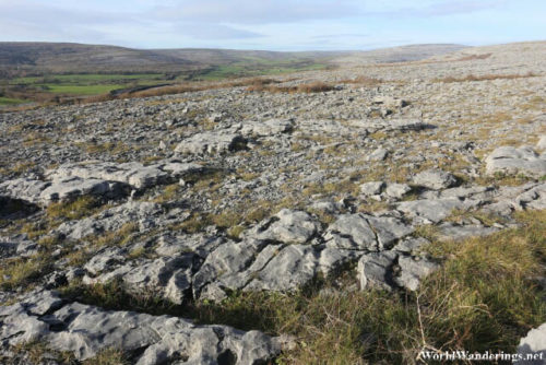 Limestone as Far as the Eye Can See at the Burren