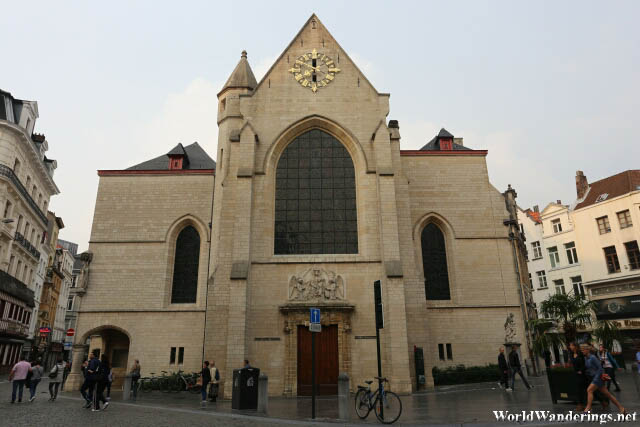 Saint Nicholas Church in Brussels