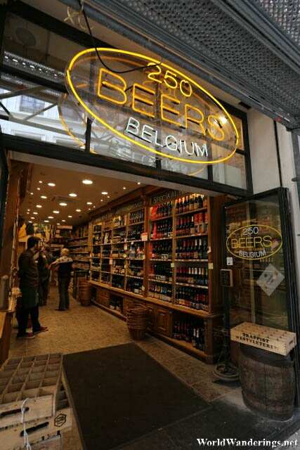 250 Beers in Brussels