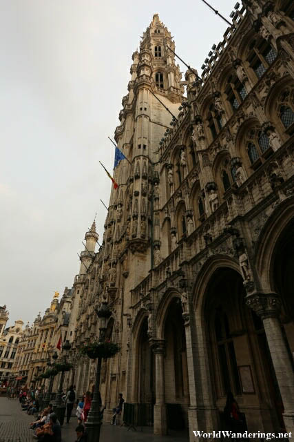 Town Hall at the La Grand-Place in Brussels