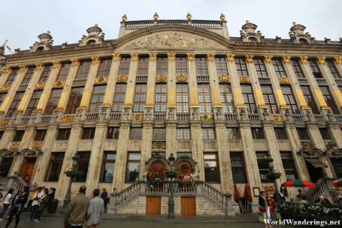 More Guildhalls at La Grand-Place in Brussels