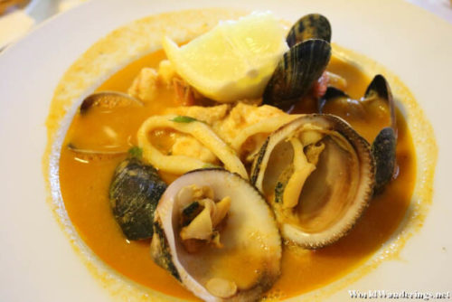 Bouillabaisse at Coin de Mer in Brussels