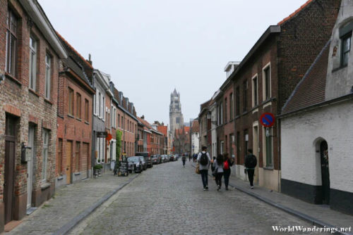Walking Through the Streets of Bruges