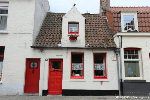 Old House in Bruges