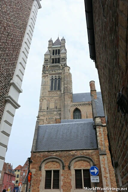 Sint Salvator Cathedral in Bruges