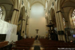 Inside the Sint-Salvator Cathedral