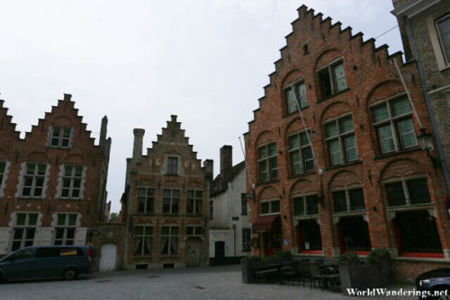 Buildings Near the Sint-Salvator Cathedral