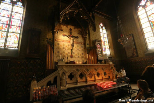 Secondary Altar of the Chapel of the Holy Blood