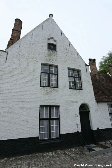House at the Beguinage in Bruges