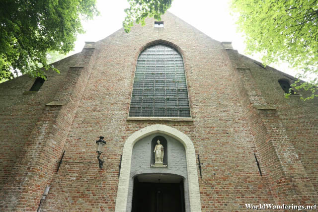 Church in the Beguinage in Bruges