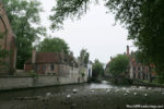 Canal View at the Beguinage in Bruges