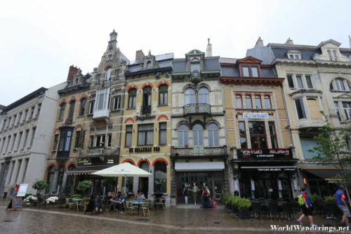 Walking Along the Streets of Ghent