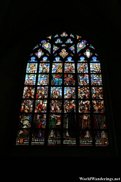 Stained Glass Windows of the Chathedral of Our Lady in Antwerp