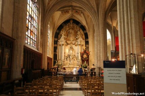 Chapel for Our Lady at the Cathedral of Our Lady in Antwerp