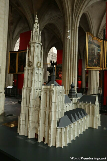 Scale Model of the Cathedral of Our Lady in Antwerp