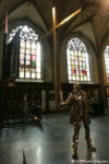 Sculptures at the Cathedral of Our Lady in Antwerp