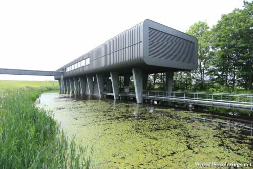 The Ir.D.F. Woudagemaal Visitor Center