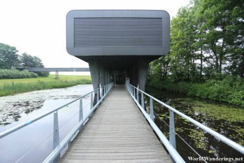 Going to the Ir.D.F. Woudagemaal Visitor Center