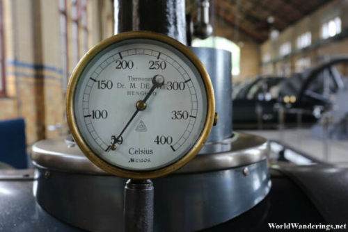 Gauge of an Engine at Ir.D.F. Woudagemaal