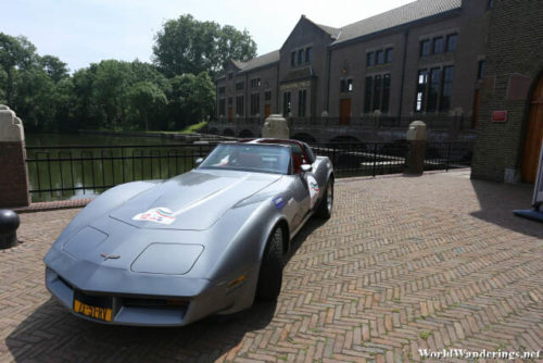Fancy Sports Car at the Ir.D.F. Woudagemaal