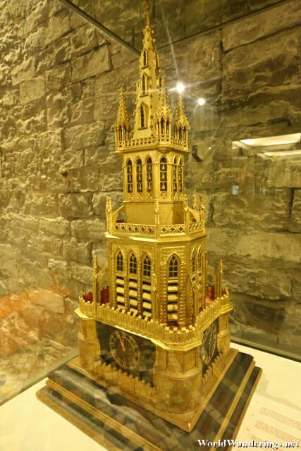 Model of a Tower in the Belfry of Ghent