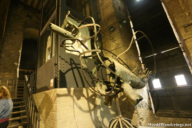 Skeleton of a Dragon in the Belfry of Ghent