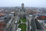 View from the Top of the Belfry of Ghent