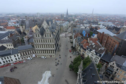 A Look at the Guildhalls Below the Belfry of Ghent
