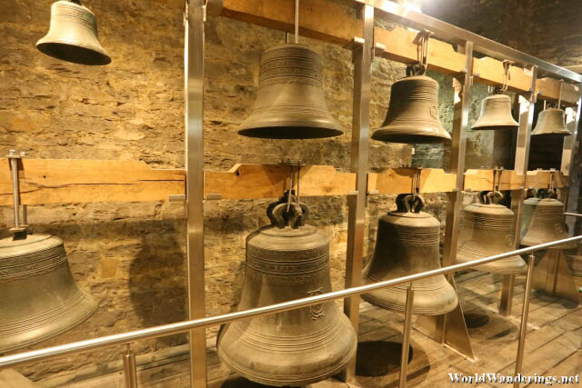 Bells Exhibit at the Belfry of Ghent