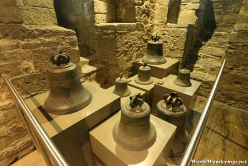Old Bells at the Belfry of Ghent