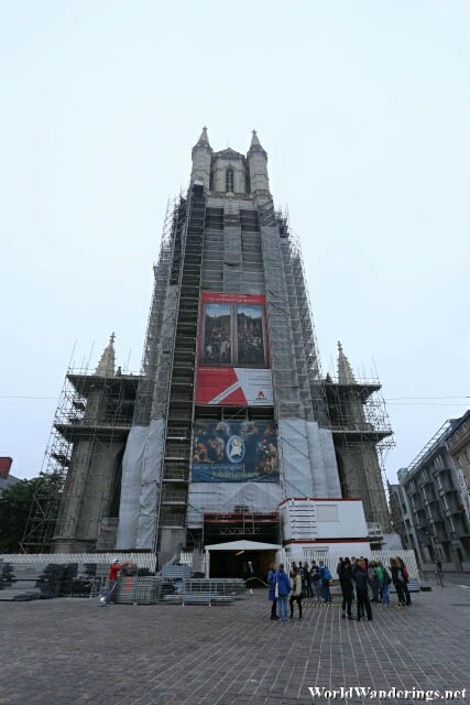 Saint Bavo's Cathedral in Ghent