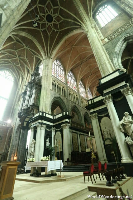 Altar Area of Saint Bavo's Cathedral