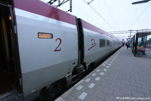 Thalys High Speed Train to Amsterdam