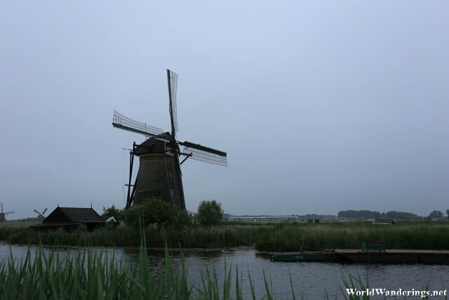A Windmill at Kinderdijk