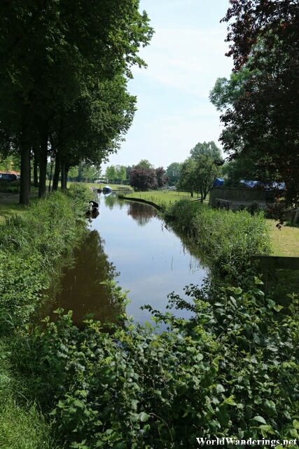 Canal in the Village of Sloten
