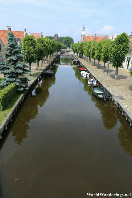 Beautiful Central Canal in Sloten