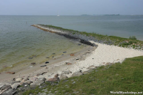 Piece of Land Juts out into the IJsselmeer