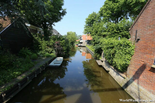 Canal in De Rijp Village