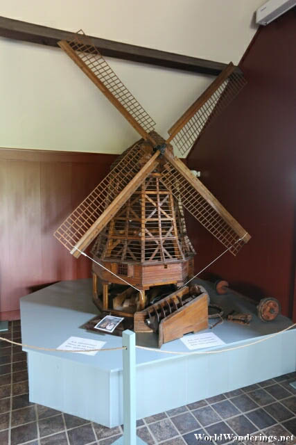 Model of a Windmill a De Museummolen
