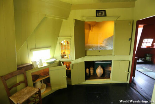 Secret Bedroom in a Windmill