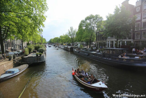 Cruising Along the Canals of Amsterdam