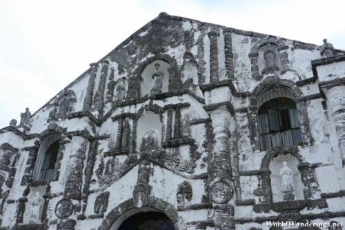 Facade of the Our Lady of the Gate Church in Daraga