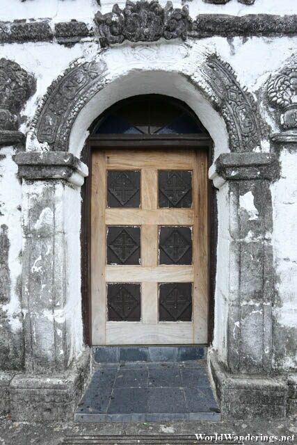 A Door in Our Lady of the Gate in Daraga