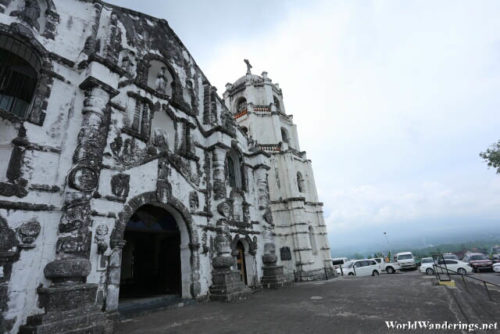 Our Lady of the Gate Church and Mayon Volcano